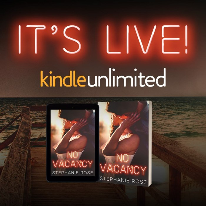 No Vacancy NOW LIVE