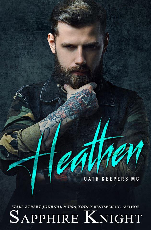 Heathen book cover